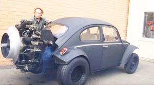 This Radial Engine Powered VW Bug Would Be Good Enough For Mad Max
