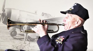 P-47 Pilot Played His Trumpet In Normandy Which Saved Lives