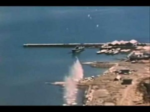 WWII Gun Cam Footage, Strafing Runs Against The Japanese