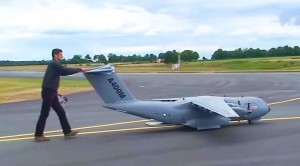 Massive RC A400M Can Even Drop Paratroopers