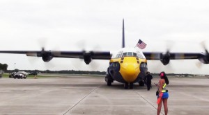 Fat Albert Starts Engines While Marshal Checks Her Cellphone!