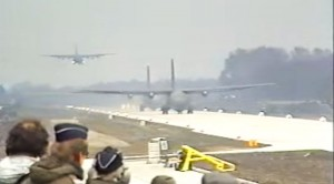 C-130s And A Rare C-160 Land On…A Highway?