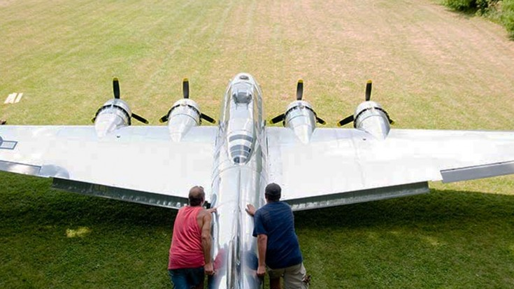 FIRST EVER 1/3 Replica Of A B-17 You Can Fly Inside Of | World War Wings Videos