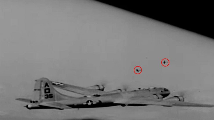 B-29s Bomb Factories While Mustangs Pick Off Interceptors | World War Wings Videos