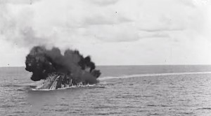 Once Censored Footage Of HMS Barham Exploding Is Absolutely Bone-Chilling