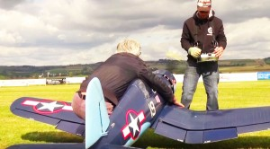 This 10 Ft. RC Corsair Sounds Like It'd Could Blow You Away
