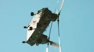 This Chinook Pilot Is CRAZY Flying Like That!