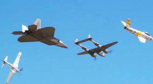Finally, A Heritage Flight And No Announcers!