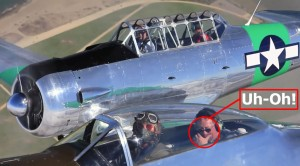 This Is How NOT To Enjoy A P-51 Mustang Ride