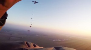 Feel What It's Like To Be A Paratrooper In First Person