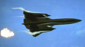 Skeleton Rattling SR-71 Low Flyby With Afterburners