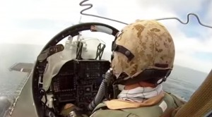 Harrier Pilot Disappointed With What We'd Consider A Perfect Landing