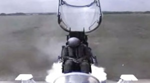 You'd Never Want To Eject After Seeing This Slow Motion Video