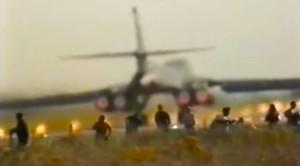 This Is Why You Don't Stand In A B-1's Jet Blast