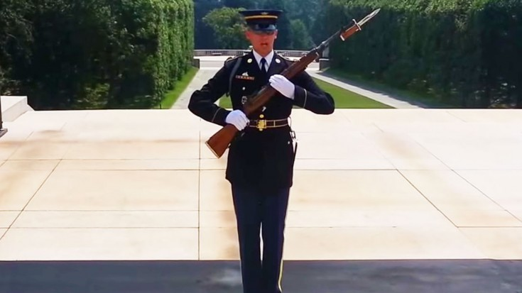 The Worst Mistake People Make When Placing Under Counter: People Laugh At The Tomb Of The Unknowns-The Guard