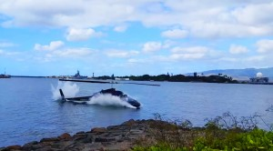 BREAKING| Chopper Crashes Right In Front Of Spectators At Pearl Harbor