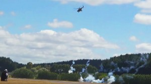 This RC Helicopter Firing Rockets Is Out Of This World