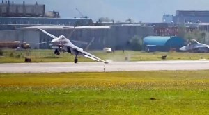Russian Pilot Takes Weird 90° Approach, Secures Worst Landing Of All Time