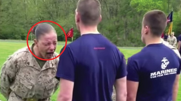 drill instructors are tough  but she is horrifying