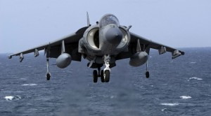 This Is What Happens When A Harrier Loses Power Over Water
