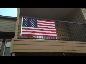 Texan Ordered To Remove American Flag Because It's OFFENSIVE