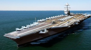 The USN Just Got Its New Behemoth Carrier And Its Cost Was Just As Large