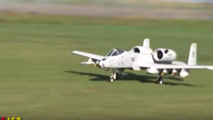 RC A-10 Warthog With Onboard Camera