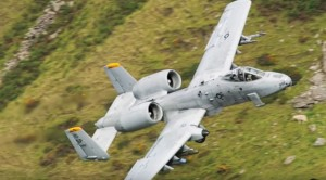 A-10s Sweep Between Hills As Spotters Lose Their Minds
