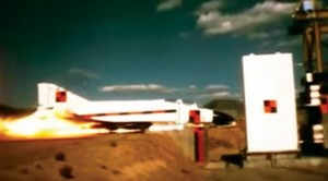 F-4 Hits Concrete Wall At 500 MPH