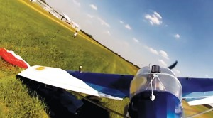Plane Got So Low It Snagged Something Off The Ground