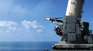 Hear The Sweet Sound Of A CIWS Gatling Gun Spraying A Boat