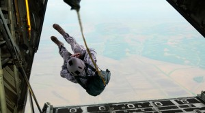 Paratrooper Has Unluckiest Exit Ever Recorded-Just Sickening