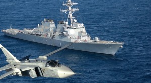 "BREAKING | Russian Su-24 Makes ""Simulated Attacks"" On US Destroyer"