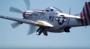 Non-Stop Flybys Of 11 Mustangs At One Show–AWESOME!