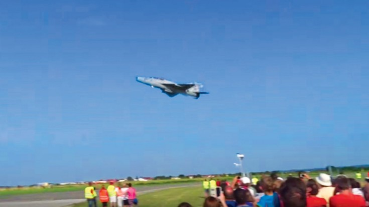 The FASTEST MiG-21 Flypast Ever Caught On Camera | World War Wings Videos