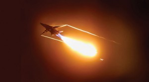 It's Not A UFO, But An F-111 Dump And Burn At Night–Awesome