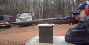 Loading & Shooting M1 Garand — Packs A BIG Punch!