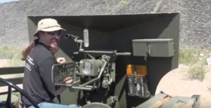 Shooting a 37mm Antitank Gun