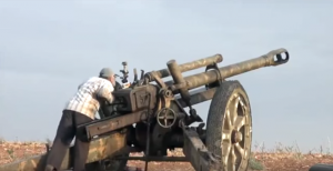 WWII Nazi Artillery Gun Used On Syrian Battlefield – I Can't Believe This