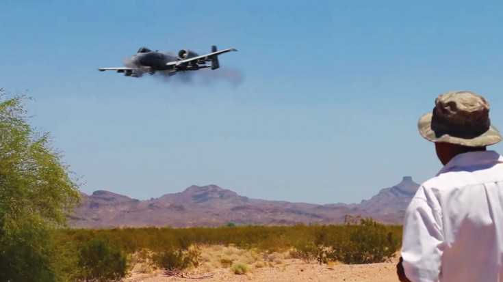 We Got Exclusive Access See A-10s Practicing–Best GAU-8 Video Yet | World War Wings Videos