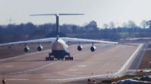 Fully Loaded Plane Takes Every Inch Of Runway–Seconds From Disaster