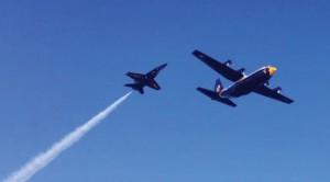 UPDATE | Onlookers Caught Fallen Blue Angel's Last Flyover