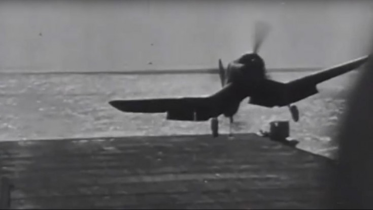 Corsairs Tended To 'Float' Upon Landing – This Pilot Found Out The Hard Way | World War Wings Videos