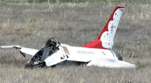 BREAKING | USAF Thunderbird Pilot Crashed Into Field