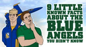 9 Little Known Facts About The Blue Angels You Didn't Know