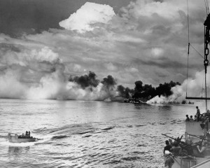 Strike Attacks On The Japanese Island Base – Historic Footage