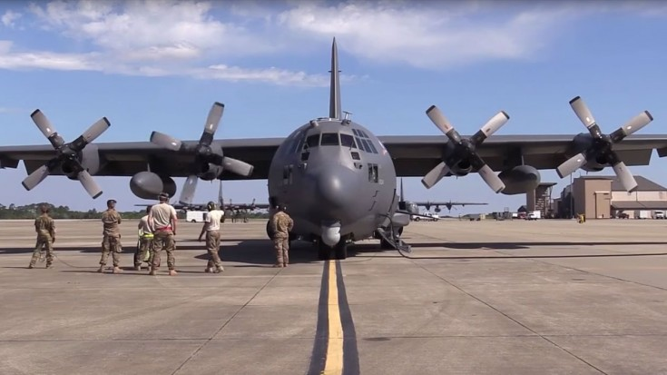 ac 130 weapons test see what this fierce killing machine can do