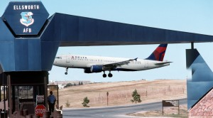 BREAKING| Delta Plane Accidentally Lands On Air Force Base – The Embarrassing Details