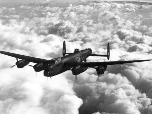 Rare Footage Of British Lancasters Over New York