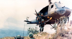 """Vietnam Huey Ops Set To """"Gimme Shelter""""–This Will Bring You Back"""